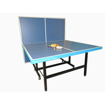 Mesa De Ping Pong Plus Plegable Reforzada 8 Ruedas Yeerom®