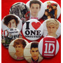 10 Pines Prendedores Colección One Direction
