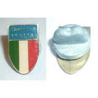 Antiguo Pin Distintivo Deportivo Italia Venezuela Año 1970