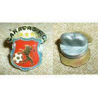 Raro Pin Distintivo Futbol Caracas Fc Venezuela 1990