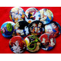10 Pines Prendedores Colección Dragon Ball Z Manga Anime