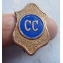 Monijor62-antigua Insignia Policia Cuerpo Caminero Ba Año 60