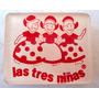 Monijor62- Pin Prendedor Leche Jugo Las Tres Niñas Acrilico
