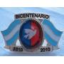 Monijor62-antiguo Pin Bicentenario Jubilados Y Pensionados