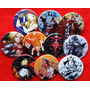 10 Pines Prendedores Full Metal Alchemist Manga Anime