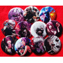 11 Pines Prendedores + 1 Llavero Tokyo Ghoul Manga Anime
