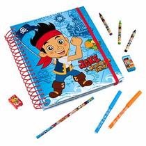 Regalo Día Del Niño Libro De Pintar Disney Store Jake Pirata