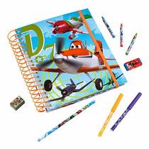 Regalo Día Del Niño Libro De Pintar Disney Store Aviones