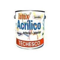 Latex Acrilico Techesco 1 Ltr Lavable/los Polvorines