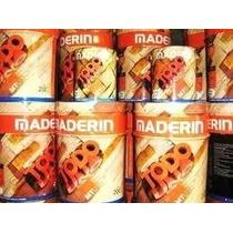 Maderin Todo En Uno X 4 Lts Curador, Barniz Y Color