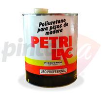 Laca Plastificante Poliuretanico Para Pisos Petrilac X 4 L