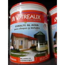 Esmalte Al Agua Para Chapas Y Metales X 1 Lts