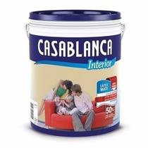 Casablanca Látex Interior Mate Blanco 10 L - El Dante
