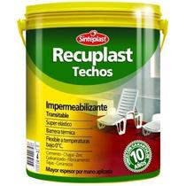 Recuplast Techos 20 Lts Garantia 10 Años Elastomerico