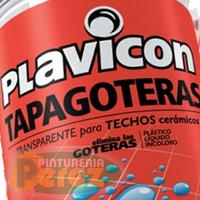 Plavicon Tapagoteras 20lt Impermeable Transparente P/ Techos