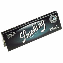 Papel Para Armar Smoking Black 25 Libritos X 50 Hojas