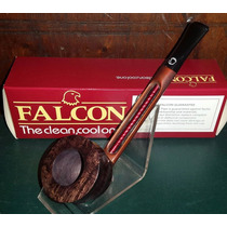 Pipa Falcon Recta Con Cazoleta Plymouth Made In England