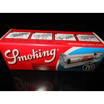 Maquina Para Armar Cigarrillos Smoking 70mm Acrilico