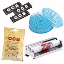 Ocb Papelillo X 3 Picachu Filtro Y Armador Metálico Smoking