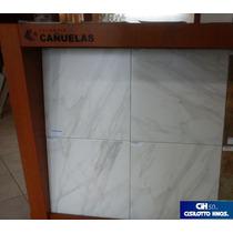 Cerámica Cañuelas Calacata 50x50 2da. Calidad