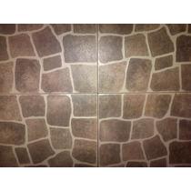 Ceramica Alberdi 36x36 Calera Marron Segunda Calidad