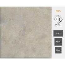 Ceramico Ciment Gris 40x40 Cortines 2da Calidad
