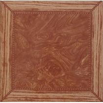 Ceramica Lourdes Simil Madera 35 X 35 Segunda. Raiz De Nogal