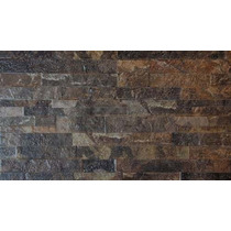 Muro Piedra Petroleo 31x53 2da Lourdes Ceramica