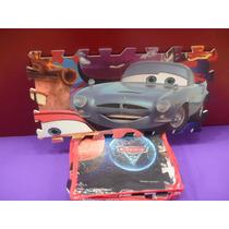 Piso De Goma Eva Cars Disney