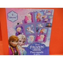 Piso De Goma Eva Y Rayuela Frozen Disney Orginal