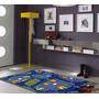 Carpeta Alfombra Calles Pista 100 X140 Cm Infantil Fundasoul
