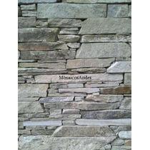 Pisos Y Revestimientos De Piedra. Murete De Bariloche
