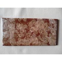 Ceramica Decorada Color Caramelo De Reposicion
