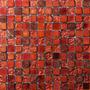 Malla Mosaico Dune Atenea 30x30cm Tonalidades Rojizas / Rojo