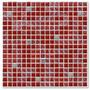 Mall Piu Mosaico Crac Rojo 30x30