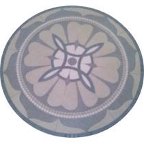 Roseton Mandala Porcelanato Granito (guardas, Mallas, Piso)