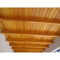 20m2 Machimbre Entablonado Eucaliptus 1´ Para Techo Pisos