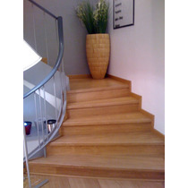 Revestimiento En Escaleras De Madera. Super Oferta