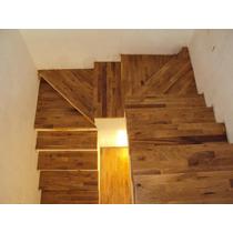 Revestimiento De Escaleras De Madera Dura Artesanal