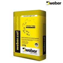 Pegamento Weber Porcelanato X 30 Kilos