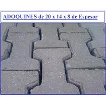 Adoquin De Cemento De 20 X 14 X8 Cm De Espesor