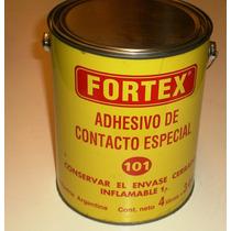 Adhesivo De Contacto Fortex X 4lts