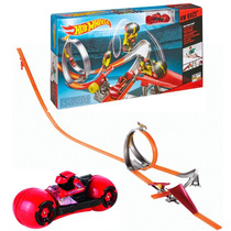 Pista Curvas Rapidas De Motos! Hot Wheels Video Tv Jiujim