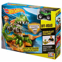 Pista Hot Wheels Off Road Dragon Blaster Challenge Original
