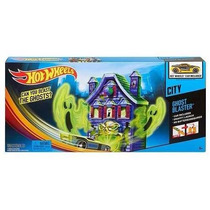 Pista Casa De Fantasmas Con Auto Hot Wheels Original Mattel