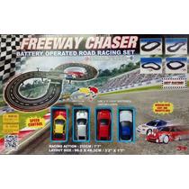 Pista De Autos Freeway Chaser 232cm 4 Diseños De Pista