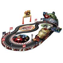 Juguete Roma Pista Autos Avengers Race Track Mod: Art.5185