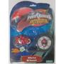 Power Rangers Moto Wheel Alta Velocidad, Con Lanzador