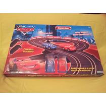 Pista Cars Con 2 Autos - Original-