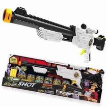 Pistola X-shot Zombie Escopeta Lanza Dardos Alcance 17mts